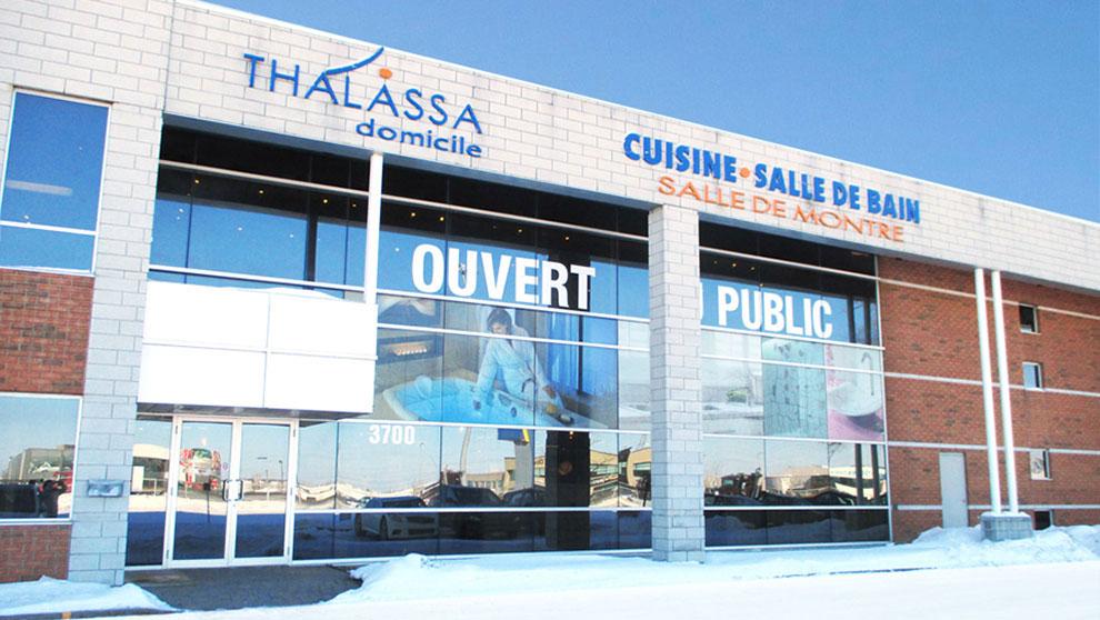 Thalassa plomberie decorative succursale Laval